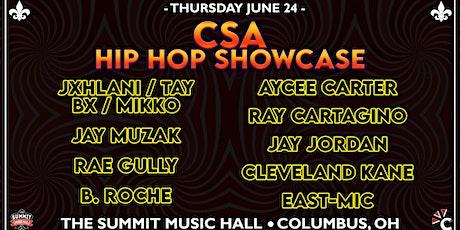 CSA HIP HOP SHOWCASE at The Summit Music Hall - Thursday June 24 tickets