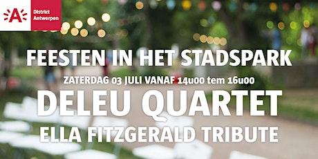 Feesten in het Stadspark 2021 - Deleu Quartet tickets