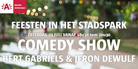 Feesten in het Stadspark 2021 - Comedy met Bert Gabriëls & Jeron Dewulf tickets