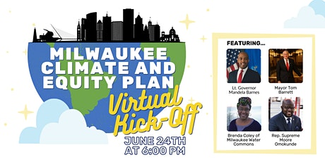 Milwaukee Climate and Equity Plan Virtual Kick-Off tickets