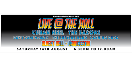 Live @ The Hall tickets