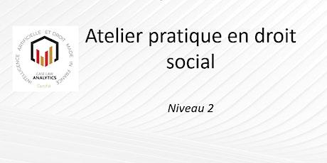 Atelier pratique en droit social billets