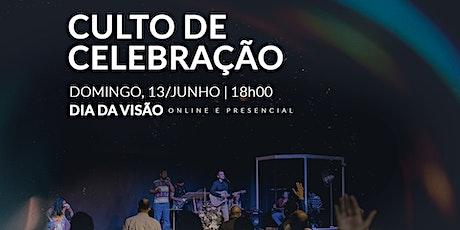 DIA DA VISÃO 13/JUNHO - 18H00 tickets
