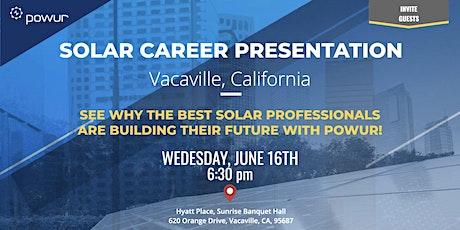 Vacaville Solar Career Presentation tickets