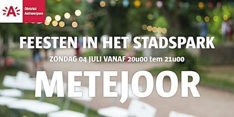 Feesten in het Stadspark 2021 - METEJOOR tickets