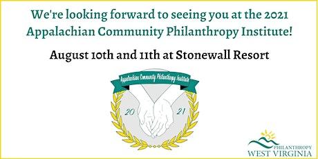 2021 Appalachian Community Philanthropy Institute tickets
