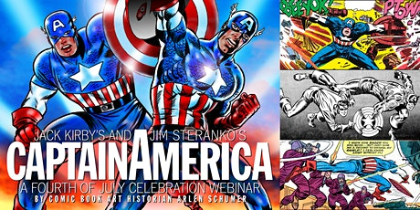 'Captain America: A Fourth of July Celebration' Webinar tickets