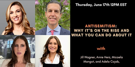 Antisemitism: Why It's On the Rise and What You Can Do About It tickets