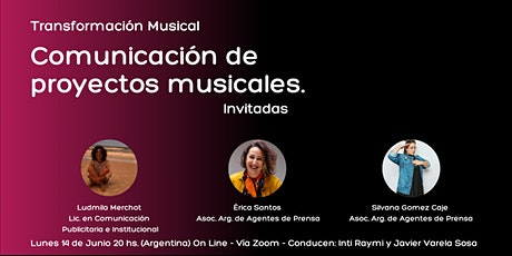 Comunicación de Proyectos Musicales tickets