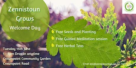 Zhub Grows Day- FREE Outdoor Meditation tickets
