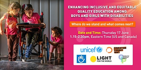 Enhancing inclusive and equitable quality education among boys and girls tickets