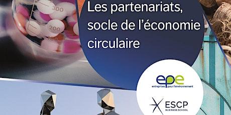 Les partenariats, socle de l'économie circulaire billets