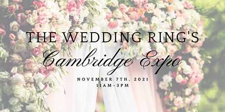 The Wedding Ring's Cambridge Fall 2021 Expo tickets
