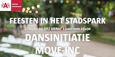 Feesten in het Stadspark 2021 - DANSINITIATIE MOVE-INC tickets