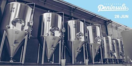 Visita Guiada Cervecera Península + Cerveza entradas