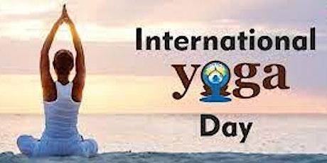 Día Internacional del Yoga / International Yoga Day tickets