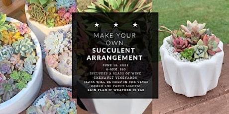 Make Your Own Succulent Arrangement Class tickets