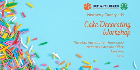 Newberry County 4-H Cake Decorating Workshop tickets