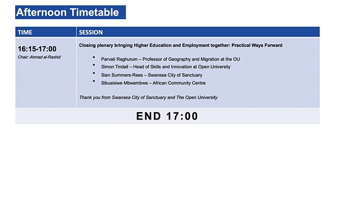 Improving Access to Higher Education and Employment for Forced Migrants image