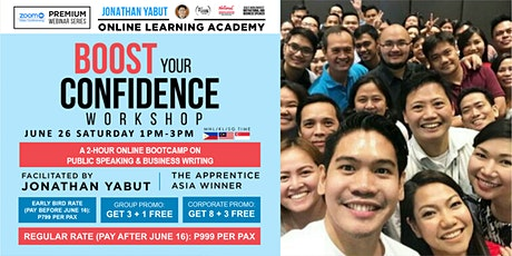 Boost Your Confidence: A Public Speaking and Business Writing Webinar tickets