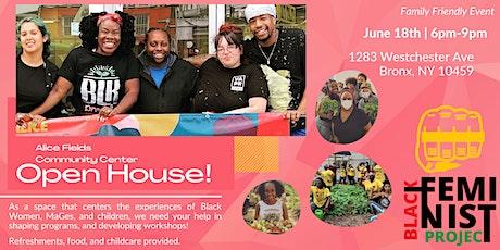 Alice Fields Community Center | Open House tickets