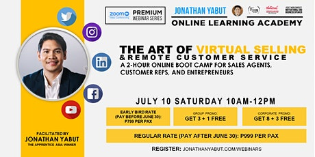 The  Art of Virtual Selling & Remote Customer Service billets