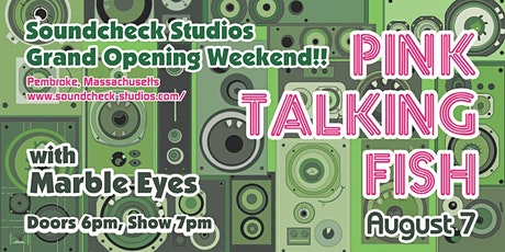 Pink Talking Fish w/ Marble Eyes tickets