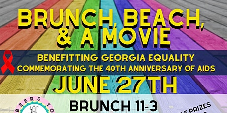 Brunch, Beach, & a Movie with Tybee Equality Fest tickets