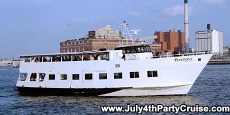 New York City July 4th Party Cruise - Harmony Yacht tickets