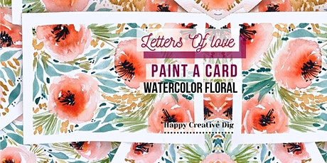 [Letters Of Love] Paint & Give A Delicate Watercolor Floral Card tickets