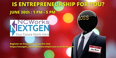 Is Entrepreneurship For You? tickets
