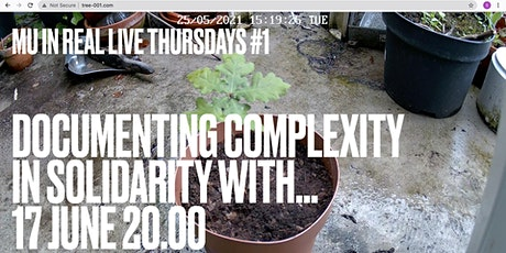 In Real Live Thursdays #1: Documenting Complexity tickets