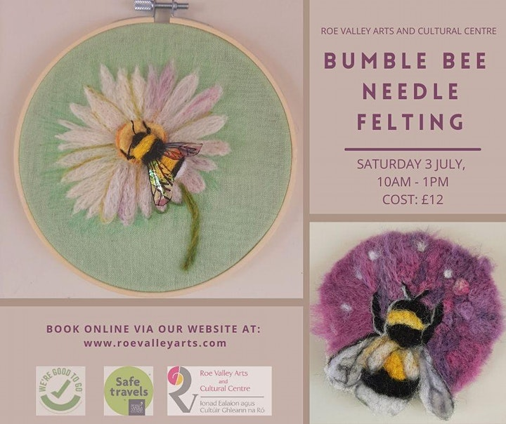 Bumble Bee Needle Felting image