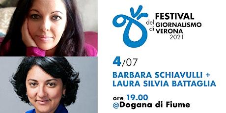FGV 2021 - Barbara Schiavulli + Laura Silvia Battaglia biglietti