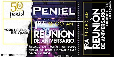 1ra Reunión Aniversario. boletos