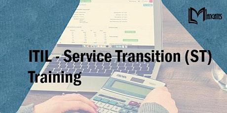 ITIL - Service Transition (ST) 3 Days Virtual Training in Cuernavaca tickets