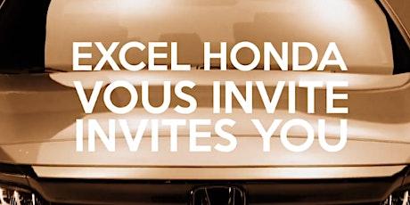Événement Découvrez l'effet Honda / Get That Honda Feeling Event tickets