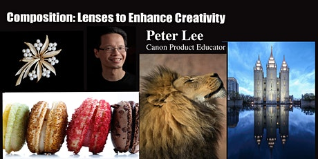 Composition: Lenses to Enhance Creativity with Canon- Live Online tickets