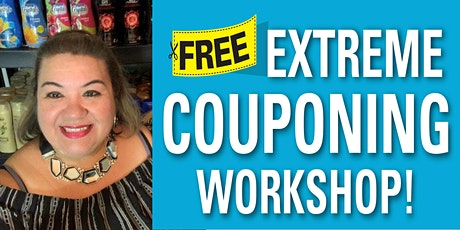 IN PERSON - FREE Coupon Class in San Antonio on Saturday, July 31, 2021!! tickets