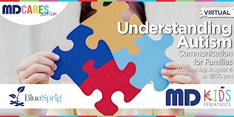 Understanding Autism Virtual Class- Communication tickets