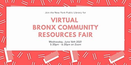 Virtual Bronx Community Resources Fair tickets