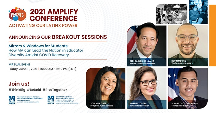 2021 AMPLIFY CONFERENCE - ACTIVATING OUR LATINX POWER image