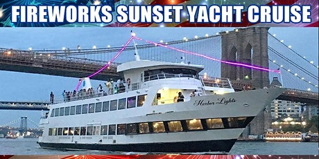 7/4 - 4th of July Fireworks Sunset Yacht Cruise tickets