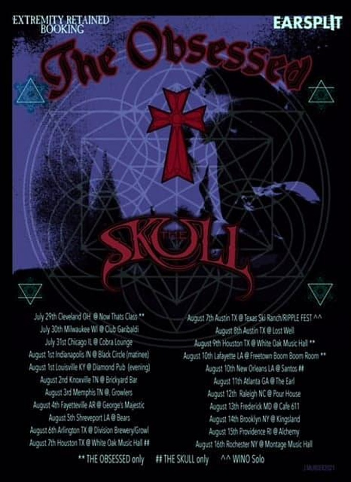 The Obsessed w/The Skull & Summoners Circle - Knoxville image