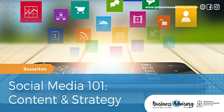 Social Media 101:  Content & Strategy tickets