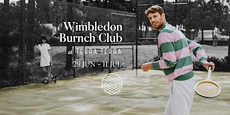 Wimbledon Brunch Club tickets