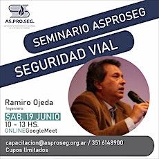 SEMINARIO VIRTUAL DE ACCIDENTOLOGIA VIAL 3º Edición entradas