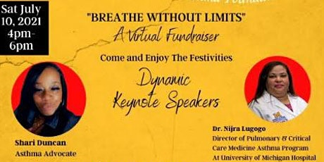 Breathe Without Limits -  A Virtual Fundraiser tickets