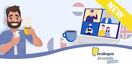 Café-langues virtuel - Débutant (NL) billets