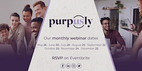 Purpusly Webinar - October 2021 tickets